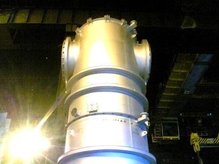 Fabrikasi Combution dan Dust Cooler