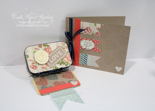 Scrapbook Tin and Card