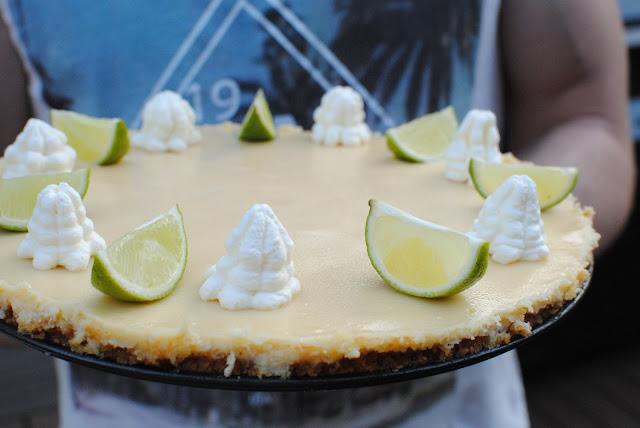 recept, key lime pie,