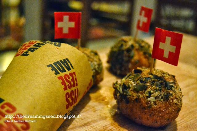 i bocconcini di riso alla zucca con gruyére per swiss cheese parade 2013