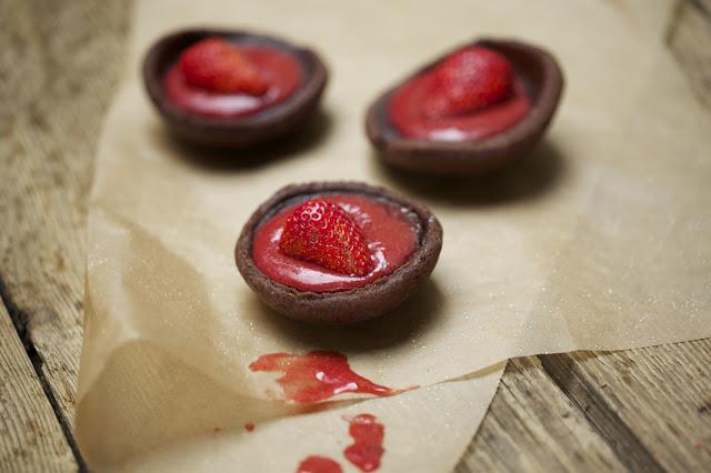 Schokolade-Erdbeeren-Kuchen-Rezept