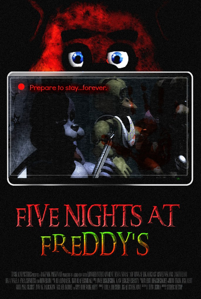 Five Nights at Freddy's PC & Android Free Full Version Cover