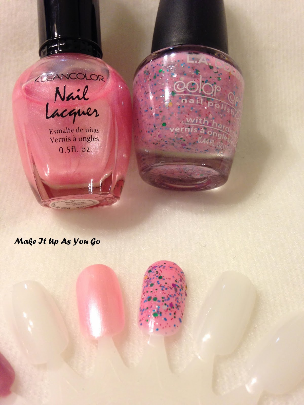 Make It Up As You Go: Nail Polish Change - KleanColor Nail Lacquer ...