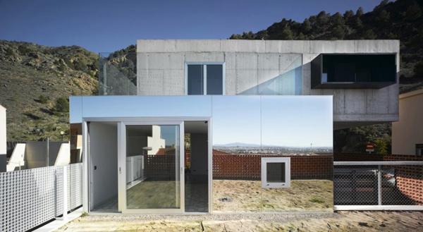 Top Livingroom Decorations Concrete Cantilever House