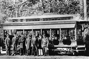 Primeiro bonde elétrico do Rio (1892)