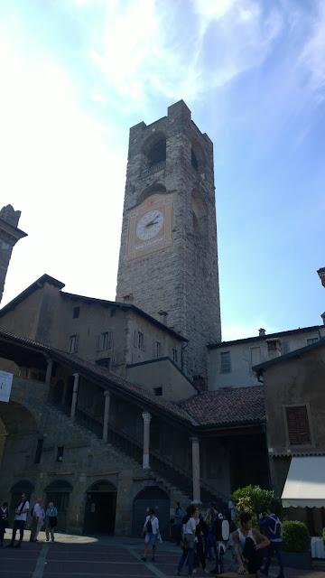 Bergamo Alta Clock Tower