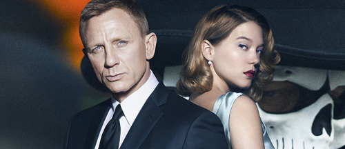 Spectre action featurette, theme song and new posters