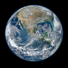 High resolution picture of Earth from space