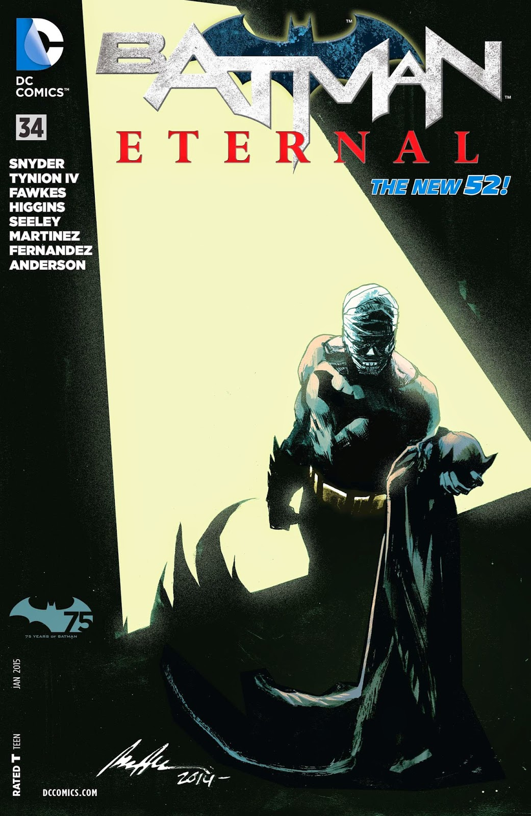 Batman Eternal #19 2014 New 52 DC Comics