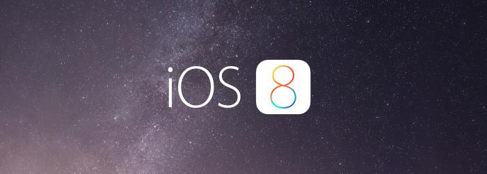 iOS 8 Atualização