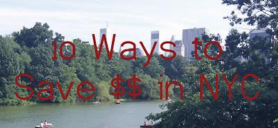10 ways to Save Money in New York City