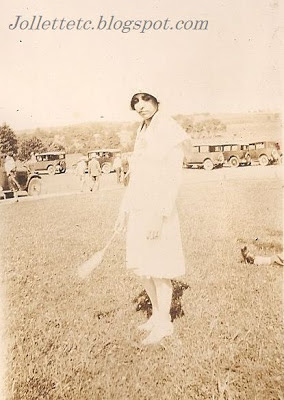 Olive Williams August 1928