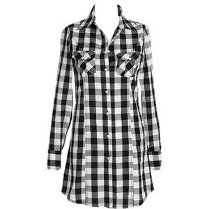 Gracie Plaid Dress