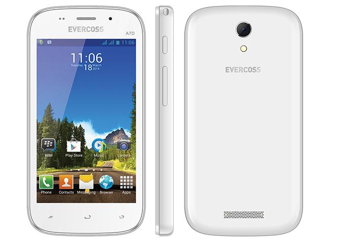 Spesifikasi dan Harga Evercoss A7D | Smartphone Murah Bertema Samsung!