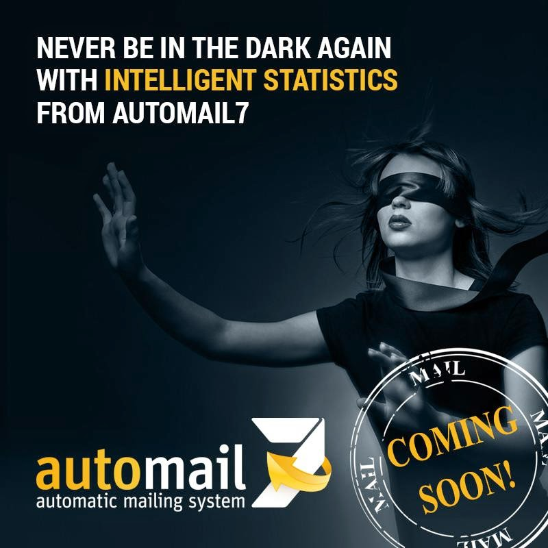 Never be in the dark again with intelligent statistics from automail7.