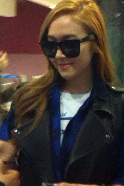 [Fantaken Pictures] 130423 Jessica Arrival at Charles de Gaulle Airport, Paris