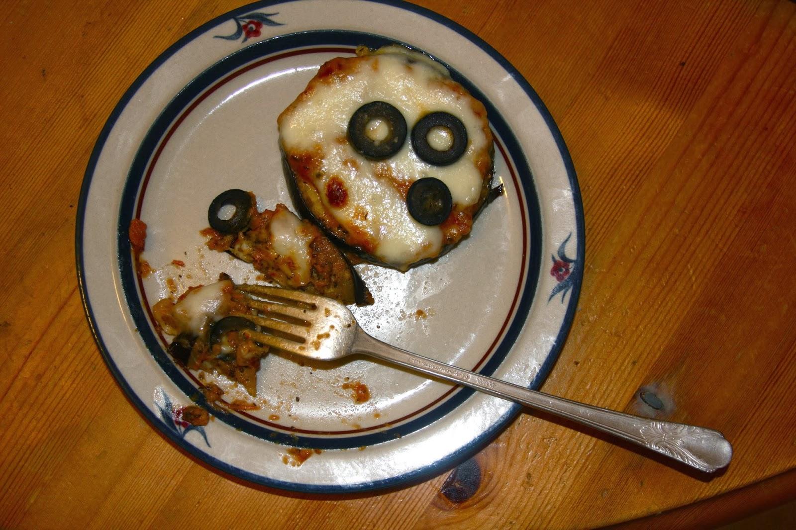 how to make eggplant pizzas