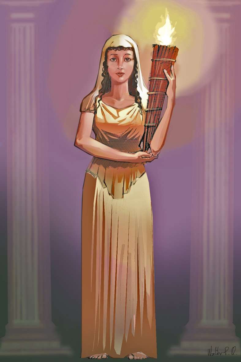 the goddess vesta