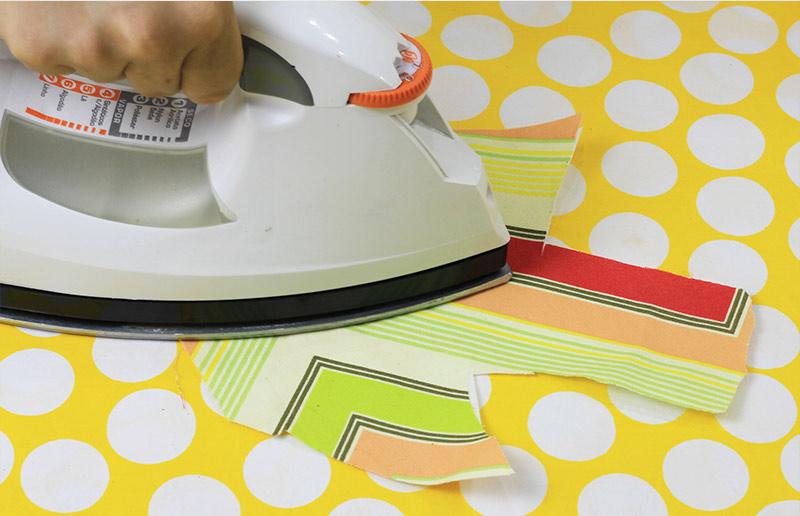 Faça-você-mesma: tutorial para adesivo de parede de tecido - passo 2