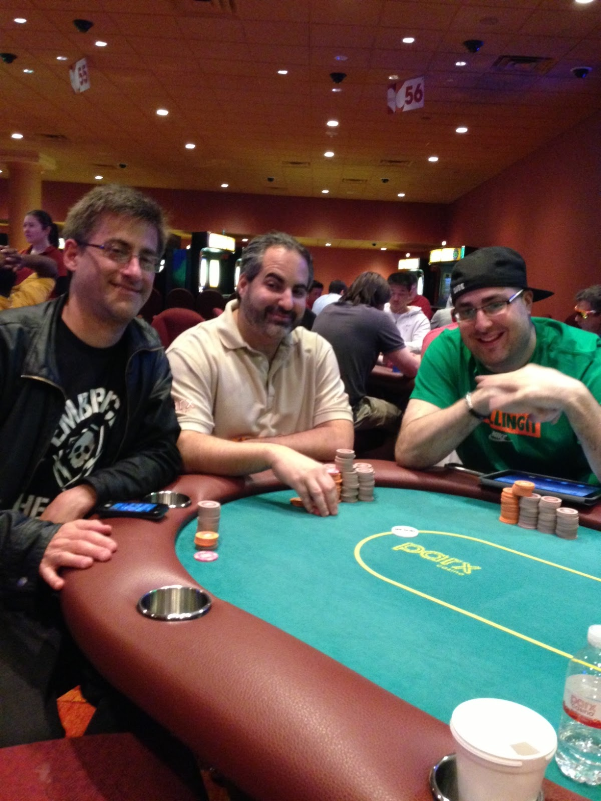 Parxbigstaxii big stax 1500 day 2 table of death updates departures for Parx poker room live game report