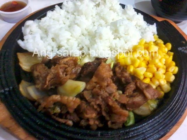 angus beef teppanyaki meal