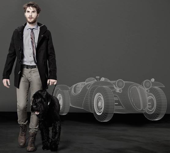 colección otoño invierno 2011 2012 hombre Do Rego & Novoa