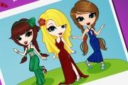Parti Kızları Boyama Oyunu