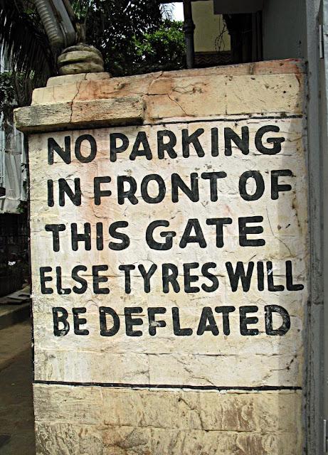 tyres deflated warning