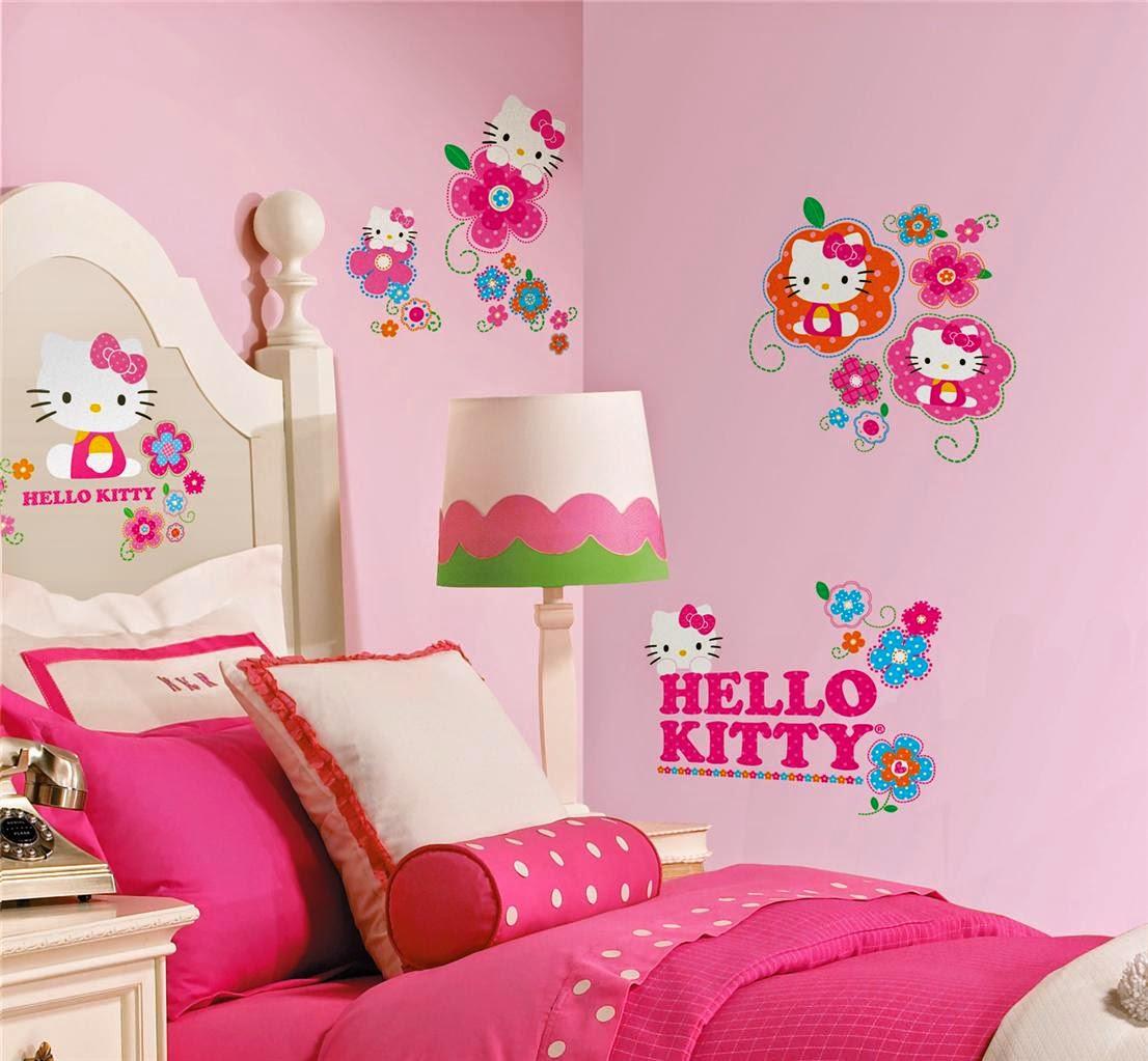 Desain Rumah Dan Properti Wallpaper Dinding Kamar Anak Perempuan
