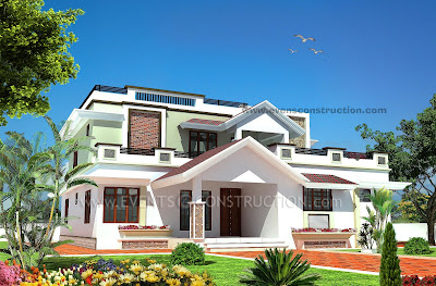 Evens Construction Pvt Ltd: 3D Plan Gallery on single story house floor plans and designs, single story exterior house designs, flat roof small house designs, kerala single floor house designs, flat roof house plans designs, modern flat house designs,