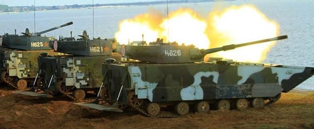 Venezolano recibió un impresionante arsenal de guerra procedente de China. Se trata de una cantidad no especificada de tanques anfibios VN16 y vehículos blindados anfibios VN18.