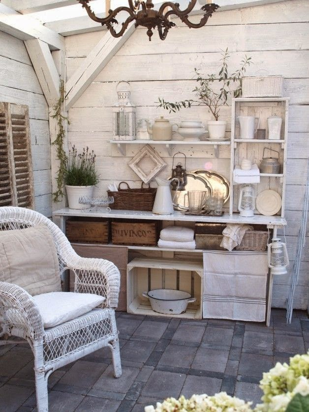 shabby chic decoracion