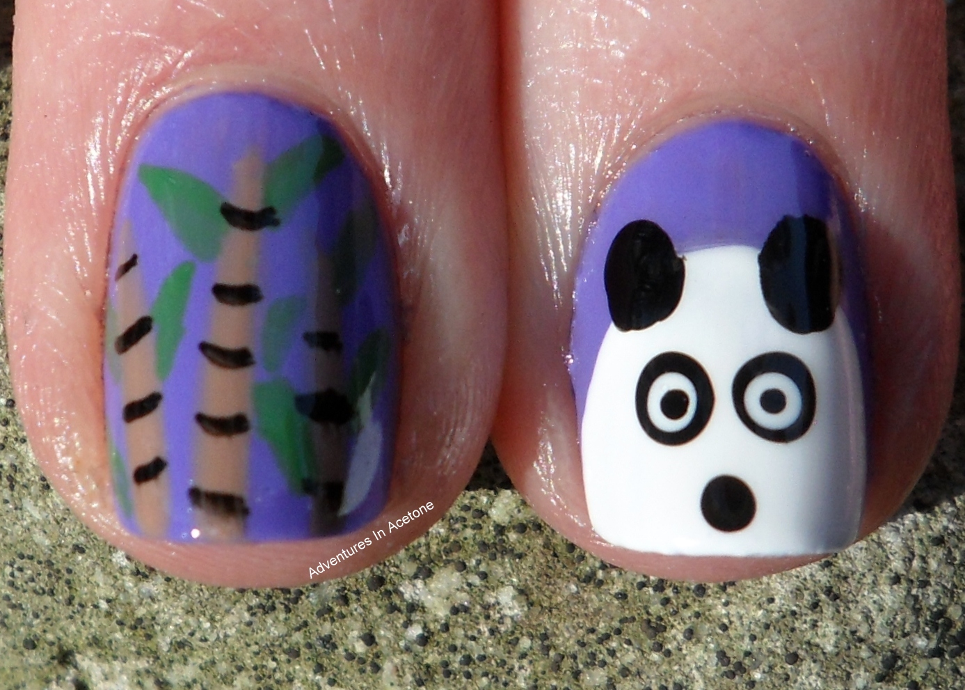 There\'s A Zoo On My Nails! - Adventures In Acetone