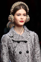 Dolce & Gabbana AW15 x Frends Embellished Headphones | Photo: Marcus Tondo / Indigitalimages.com