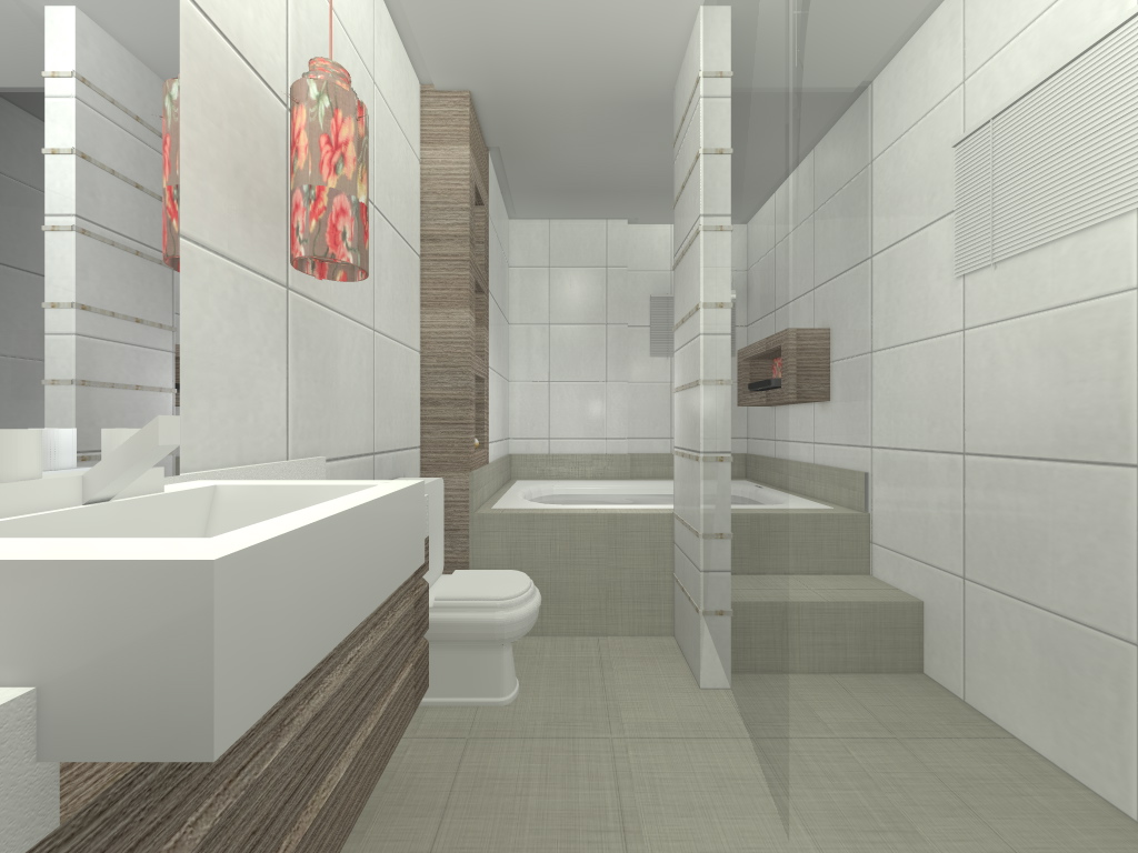Fernanda Moschetta: Projetos Interiores Residenciais Banheiros #943B37 1024 768