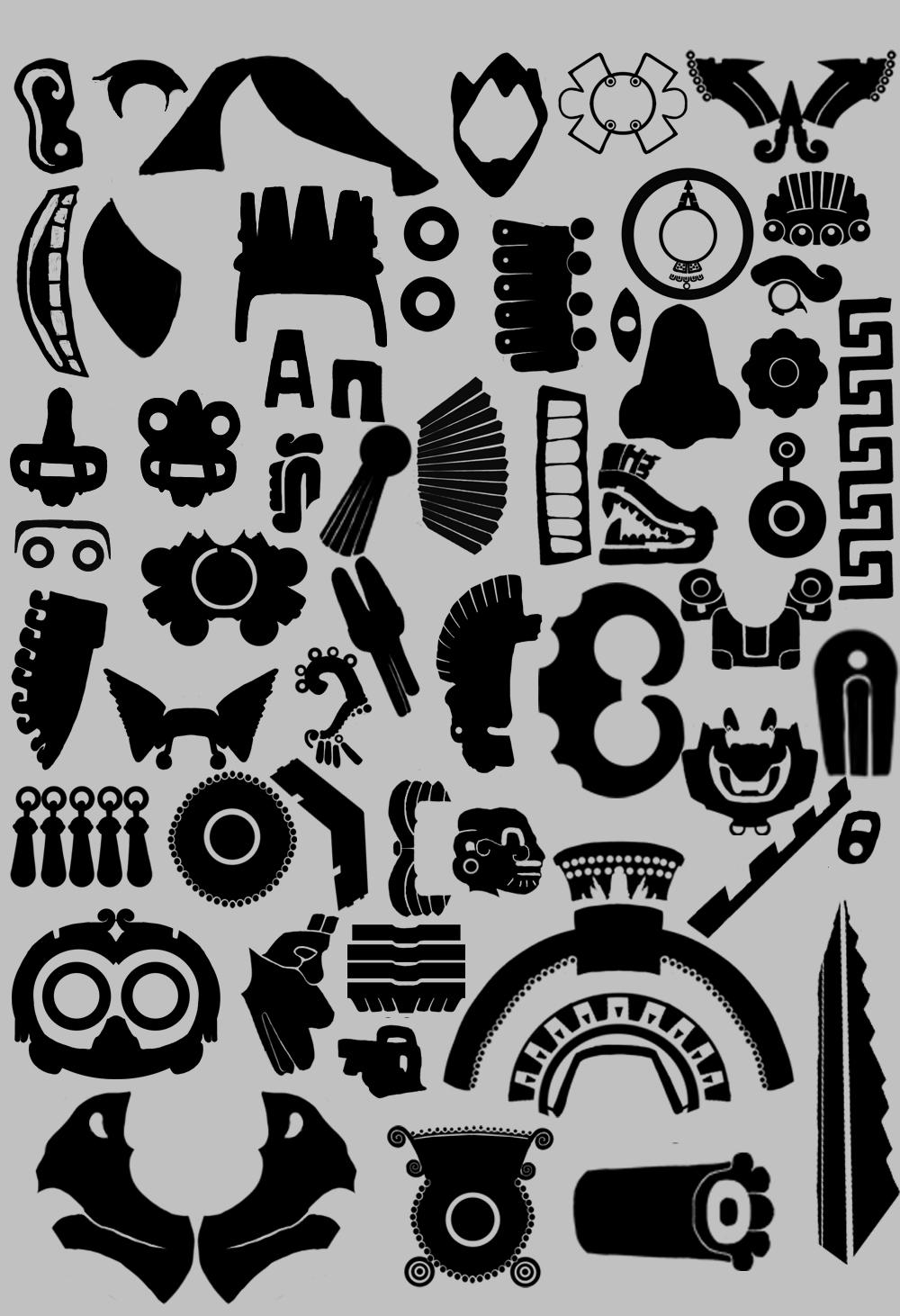 Aztec Symbols  Aztec History