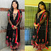Soumya in Black Churidar