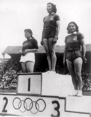 London Olympics 1948 medal ceremony