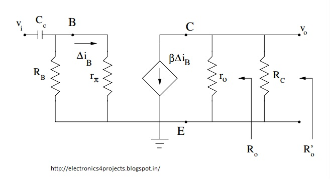 AC analysis of bjt