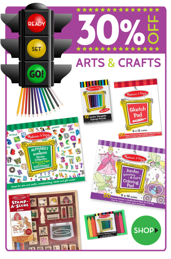 Ready Set Go Sale on Arts & Crafts for Kids