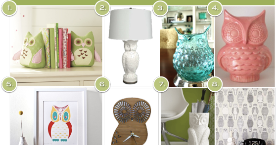 28+ [ owl home decor ] | mint green owl and owlet mother and child