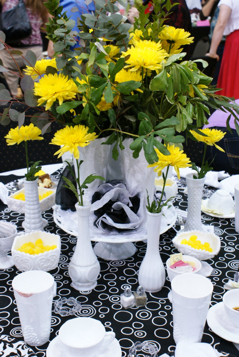 & Spring Luncheon Stage and Table Decoration Ideas - Dimples and Tangles