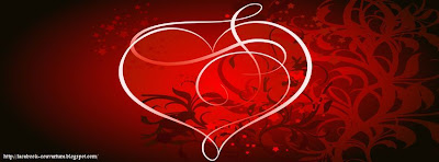 couverture facebook coeur rouge