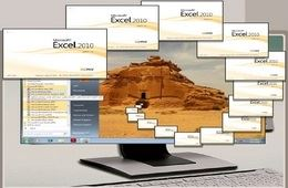 برنامج الجداول الإلكترونية Microsoft Excel 2010