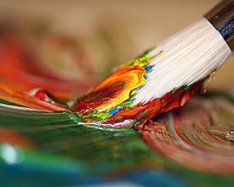 Una pintura
