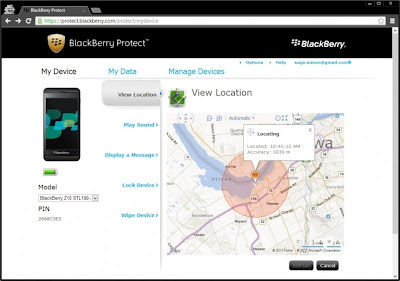 How To Track Your Misplaced Or Stolen Blackberry Smartphone