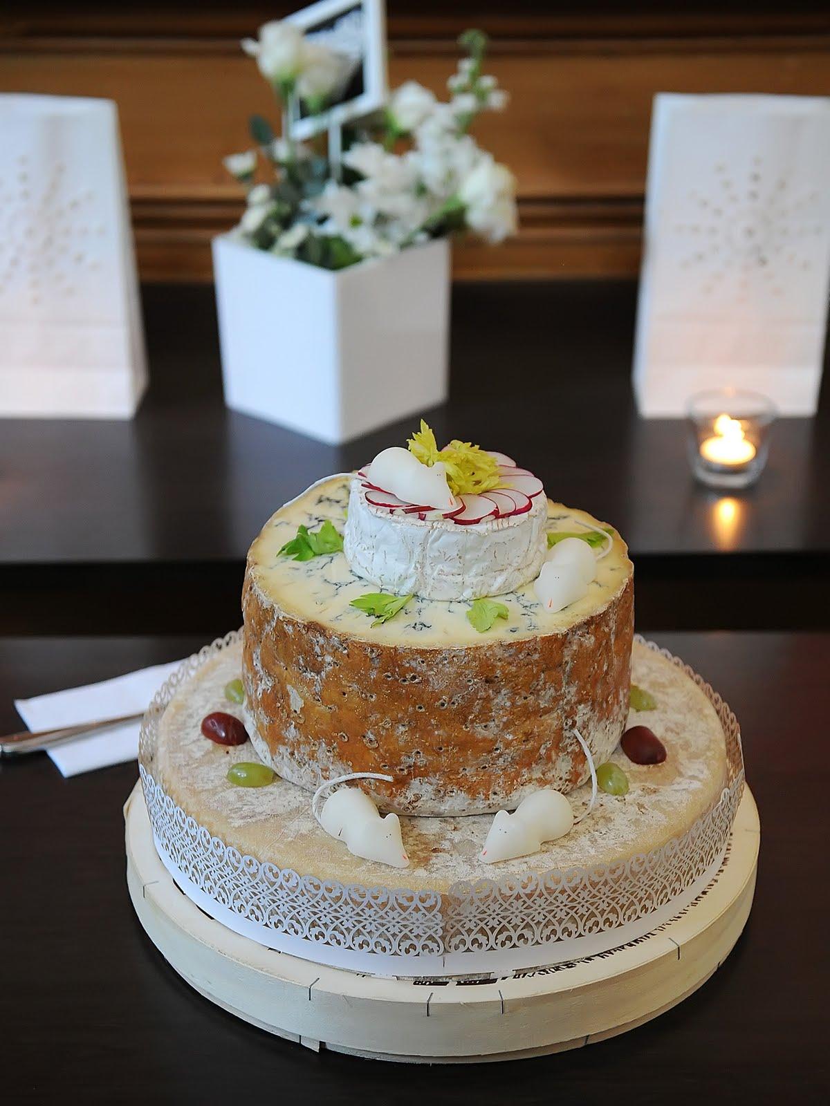 Ian Mellis Cheese Wedding Cake