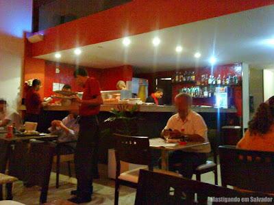 Sushi Deli: Ambiente interno