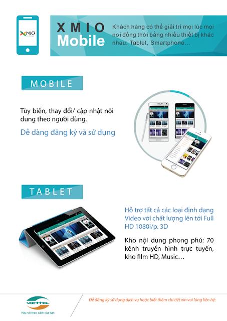 Dịch vụ này có xem được trên mobile, ipad không?