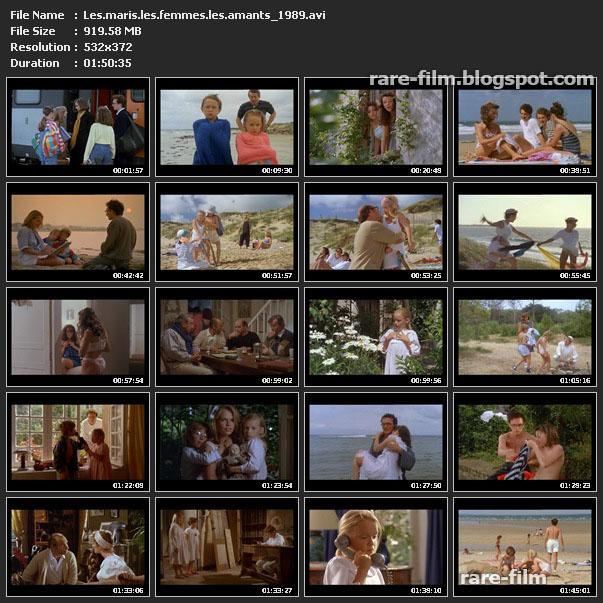 Les maris, les femmes, les amants (1989) Download